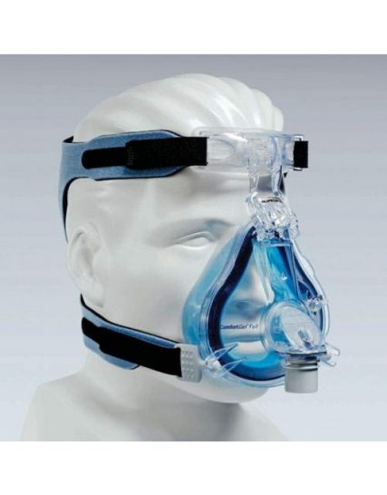 СЪННА ТЕРАПИЯ – COMFORT GEL BLUE FULLFACE MASKE, VENTED, PHILIPS RESPIRONICS